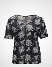 Violeta by Mango Printed Linen-Blend T-Shirt
