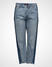 Violeta by Mango Mom-Fit Tux Jeans