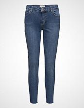Fiveunits Penelope 410 Crop, Blue Wood Raw, Jeans