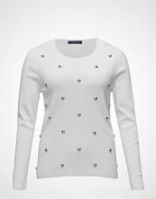 Violeta by Mango Studded Textured Sweater