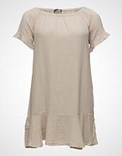 Violeta by Mango Contrasting Off-Shoulder Dress