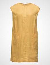 Violeta by Mango Herringbone Linen Dress