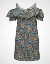 Violeta by Mango Printed Off-Shoulder Dress