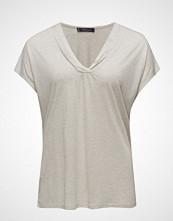 Violeta by Mango Metallic Thread T-Shirt