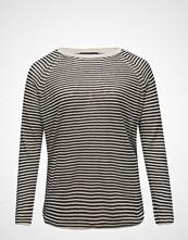 Violeta by Mango Striped Linen Sweater