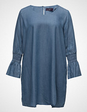 Violeta by Mango Tencel Denim Dress