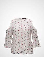Violeta by Mango Printed Off-Shoulder Blouse