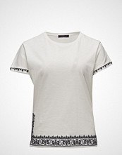 Violeta by Mango Embroidered Detail T-Shirt