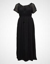 Violeta by Mango Plumeti Long Dress