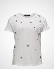Violeta by Mango Embroidery Beaded T-Shirt