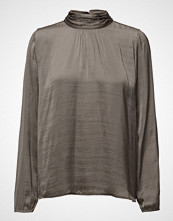 Saint Tropez Blouse With High Neck And L/S
