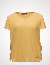 Violeta by Mango Flecked Linen-Blend T-Shirt