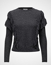 Mango Ruffled Detail T-Shirt