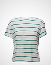 Lee Jeans Relaxed Stripe Tee Aqua