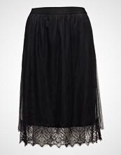 Cream Meshsina Skirt