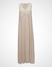 Mango Blond-Lace Panel Dress