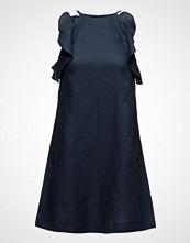Mango Linen-Blend Dress