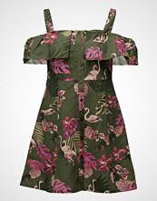 Mango Off-Shoulders Linen Dress