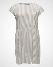 Violeta by Mango Striped Cotton-Blend Dress