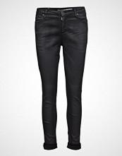 Please Jeans Catwoman Coat Nero