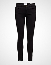FRAME Le Skinny De Jeanne Rw Stagger Skinny Jeans Svart FRAME