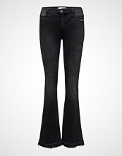 Odd Molly Janis Black Stretch Flare Jean