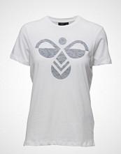 Hummel Classic Bee Fauna Ss Tee T-shirts & Tops Short-sleeved Hvit HUMMEL