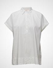 Rabens Saloner Messy Cotton Top