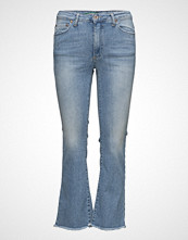 Please Jeans Short Cut Light Denim