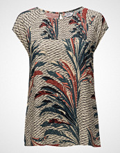 Saint Tropez Feather Printed Top