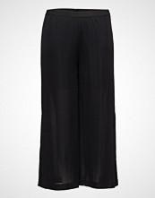Violeta by Mango Side Slit Flowy Trousers