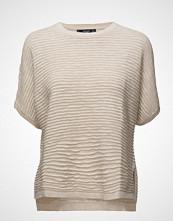 Mango Stripe Textured Sweater