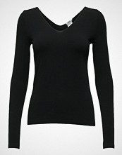 Wolford Viscose Pullover T-shirts & Tops Long-sleeved Svart WOLFORD