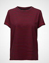 Lee Jeans Stripe Tee Red Runner