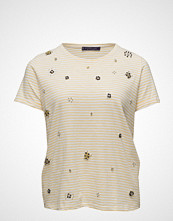 Violeta by Mango Embroidery Beaded T-Shirt
