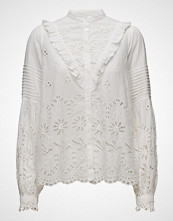 by Ti Mo Frill Blouse - Broderie Anglaise