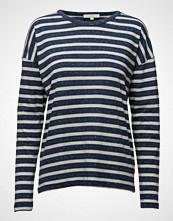 Lee Jeans Ls Stripe Tee Medieval Blue