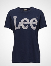Lee Jeans Logo Tee State Blue