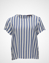Violeta by Mango Flowy Striped Blouse