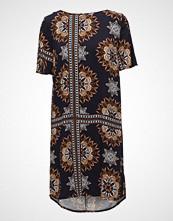 Saint Tropez Kaleidoscope Print/Solid Dress