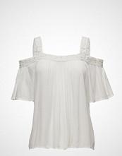 Cream Visilla Open Shoulder Blouse
