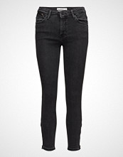 Mango Eco Skinny Crop Tatoo Jeans