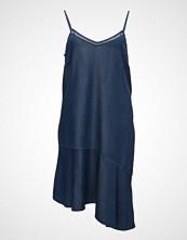 Violeta by Mango Frills Denim Dress