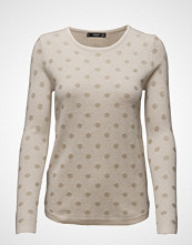 Mango Polka-Dot Cotton-Blend Sweater