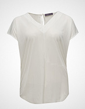 Violeta by Mango Textured Flowy T-Shirt