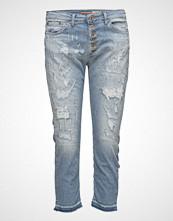 Please Jeans 6b Capri Trash Denim