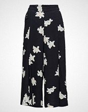 Mango Flowy Cropped Trousers