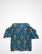 Violeta by Mango Printed Off-Shoulder Blouse