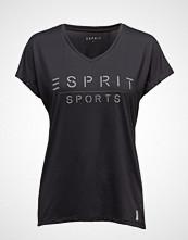 Esprit Sport T-Shirts T-shirts & Tops Short-sleeved Svart ESPRIT SPORT