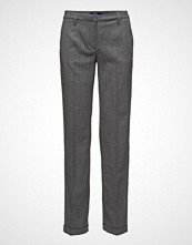 Gant O1. Pinstripe Wide Pants